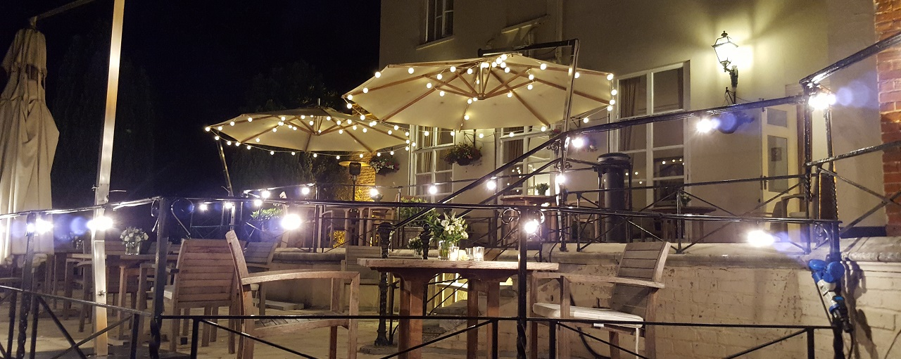 Taplow House Hotel Patio