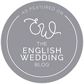 as featured in The English Wedding